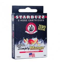 Starbuzz E-hose cartridge Simply Mango, 1ks