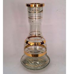 Váza Al Idrisi 30, zlatá