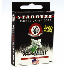 Starbuzz E-hose cartridges, White Mint