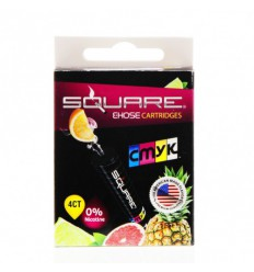 CMYK 0mg Square Cartrige