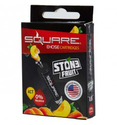 Stone Fruit 0mg Square Cartrige