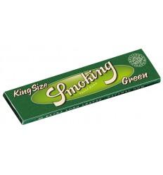Cigaretové papírky Smoking Green KS