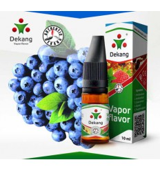 Borůvka / Blueberry, e-liqid DEKANG Silver