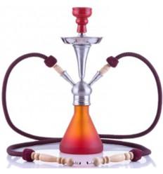 Numea červená-oranžová 48cm/2, Vodní dýmka Aladin Origins