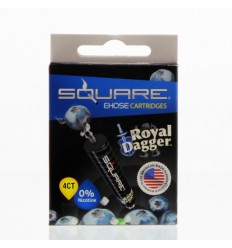 Royal Dagger 0mg Square Cartrige