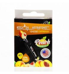 Peach Sunrise 0mg Square Cartrige