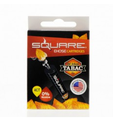 Old School Tabac 0mg Square Cartrige