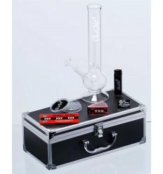 BONG DUDE GLASS V BOXE H:30CM O:40MM SOCK