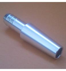 Hoseconector - chrom